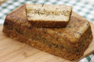 Our layered nut loaf with lemon & herb stuffing